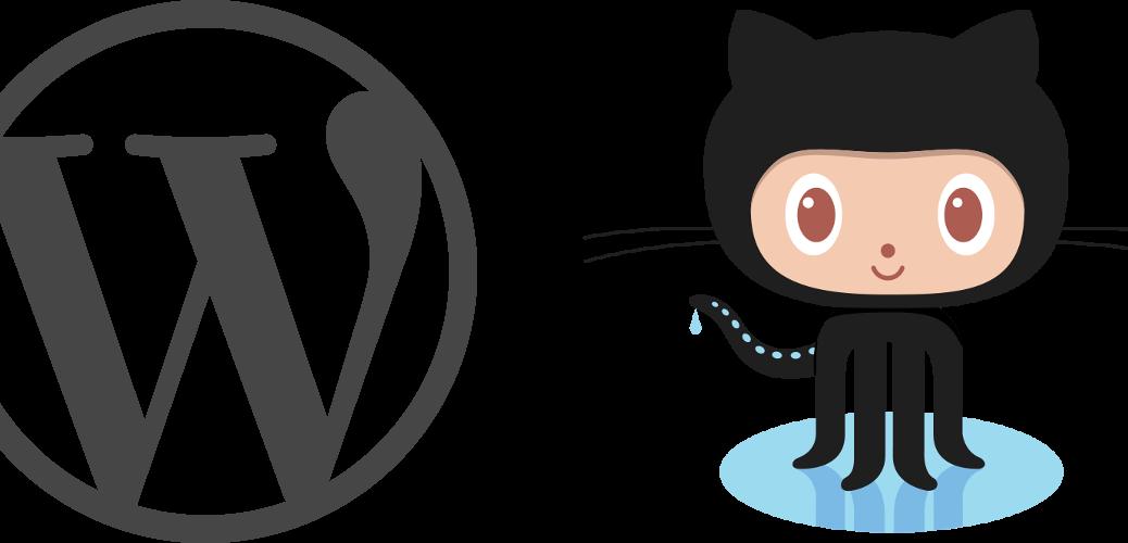 WordPress Github Logos